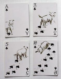 People say they love dogs all the time, but does it really mean anything if you don't have dog-themed playing cards?