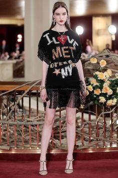 Dolce & Gabbana presents part three of the Alta Moda weekend at New York's Metropolitan Opera House.