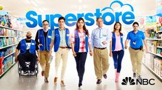 America Ferrera (Ugly Betty) and Ben Feldman star in Superstore, the comedy about a unique family of employees. Oh Oh how I lolled America Ferrera, Superstore Tv Show, Top Tv Shows, Watch Tv Shows, Movies And Tv Shows, Good Girl, Cloud 9, Mark Mckinney, Movies