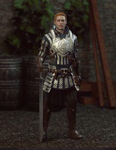 Alistair Theirin (Grey Warden) by elyhumanoid.deviantart.com on @DeviantArt
