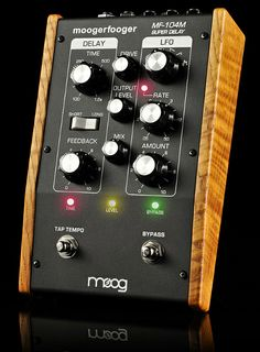 Robert Moog, inventor of the Moog synthesizer. Explore Moog analog synthesizers and other instruments for electronic music, designed and built in Asheville, NC. Prs Guitar, Guitar Rig, Guitar Pedals, Guitars, Moog Synthesizer, Bucket Brigade, Music Gadgets, Digital Instruments, Musica