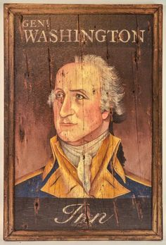 Young George Washington, Primitive Signs, Country Primitive, Primitive Kitchen, Primitive Crafts, Country Art, Country Living, Wood Crafts, Kitchen