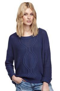 lucinda cable pullover