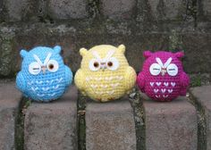 Workshop Pampering the Quelsfs: Owls and Crochet: Passion in the right
