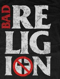 Bad Religion T shirt Stacked distressed black cool punk retro 80's skate tee #BadReligion #GraphicTee