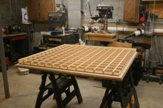 torsion box table saw   Click on this image for a larger view