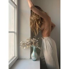 "4,014 Likes, 64 Comments - PaniAniAni (@panianiani) on Instagram: ""Look Mum! No hands! #mood #lunaria #friday #vase #flowers #highwaist #nofilter"""
