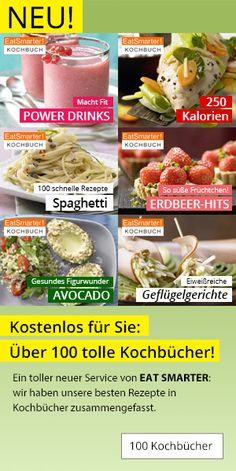 kochbuch-uebersicht Clean Eating, Ober Und Unterhitze, Easy Cake Recipes, Eat Smarter, Low Carb, Mexican, Baking, Vegetables, Diy Gifts