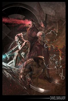 X-Men by Daniel Barajas