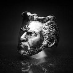 #gyűrű #ring #ezüstékszer #egyediékszer #egyediajándék #masterpiece #wolverine #logan  www.ekszercenter.hu Lee Jeffries, Wolverine, Logan, Instagram, Rings, Photos, Art, Art Background, Pictures
