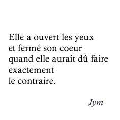 Ouvre ton cœur #jym