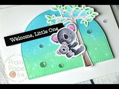 MFT Cuddly Koalas | Clean Color Real Brush Markers | Distress Oxide Inks