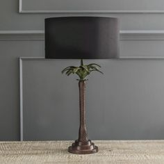 Tall Palm Tree Table Lamp - View All - Shop By Category - New In