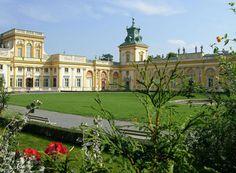 Poľsko,Varšava-Wilanow-Park 12