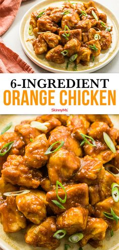 Our orange chicken recipe delivers mouthwateringly juicy flavor without a frightening calorie count. Our orange chicken recipe delivers mouthwateringly juicy flavor without a frightening calorie count. Healthy Food Recipes, Healthy Family Meals, Healthy Pastas, Low Calorie Recipes, Lunch Recipes, Skinny Recipes, Simple Recipes, Healthy Tips, Free Recipes