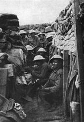 Battle of Fromelles - Image is of some of the members of the Australian 53rd Battalion; three of the men survived the battle, all wounded.