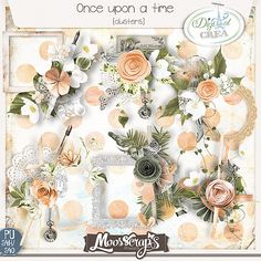 Once upon a time - clusters  5 clusters big size  http://digital-crea.fr/shop/index.php?main_page=product_info&cPath=155_333&products_id=19817#.VRLDgvmG-So