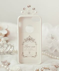 Tiara Jelly Phone Case (iPhone 5/5s)HappyMori specializes in quality cell phone cases designed at the design studio in South Korea. You
