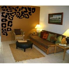 Exceptional Leopard Wall Decals, Bathroom Of Closet Wall Great Pictures