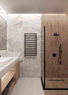 What do you think about this apartment design? By: What do you think about this apartment design? Simple Interior, Best Interior Design, Bathroom Interior Design, Bathroom Designs, Modern Interior, Bathroom Design Inspiration, Bad Inspiration, Design Ideas, Design Scandinavian