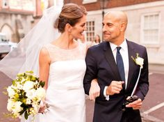 Stanley Tucci, the 51-year-old Hunger Games actor and Emily Blunt's sis, Felicity Blunt, got hitched in a formal ceremony at Middle Temple Hall in London. Steve Buscemi served as the best man while the bride's actress sister was a bridesmaid