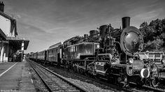 https://flic.kr/p/LvyBcW | Locomotive à vapeur 141 TB 424 | Le train spécial de…