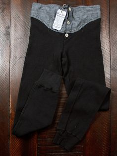 It's cold out there: Choctaw Ridge Antique Black Thermal Long John | LEFT FIELD NYC