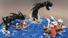 The Sea Dragon: A LEGO® creation by Justin Knelsen : MOCpages.com