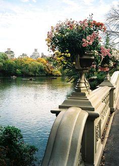 Central Park bridge, New York City
