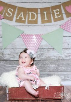 Sadie Bug is on Etsy! 7 Flag Custom Baby Name Burlap Banner, Photo Prop, Party Banner Baby Girl Names, Family Kids, Sadie, Creative Photography, Photo Props, Baby Room, Burlap, Kid Photos, Banner