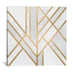 Found it at AllModern - 'Art Deco Geometry II' by Elisabeth Fredriksson Graphic Art on Wrapped Canvas