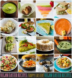 Vegan Easter Week Recipes. Over 40 to choose from! #easter