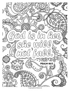 Amazon Color Your Psalms An Inspiring Christian Coloring Book For Relaxation