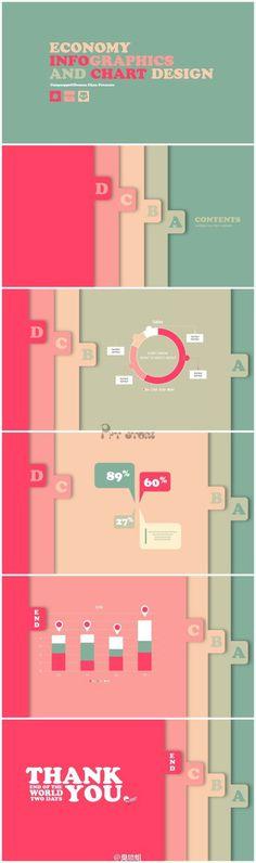 【最新商务标签风格PPT模板】动态小清新...