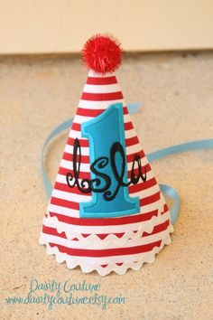 Dr Seuss Birthday Party  Hats First Birthday Hats d7f46589005a