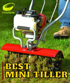 Mini Tiller use to make the soil loose and smooth before planting and after planting the crops. It also controls the weeds from the agricultural field. It is a small machine and easy to handle, benefits from a powerful 43cc 2-stroke petrol engine - it does give plenty of power. If you're looking for a reliable tiller for your allotment or garden, the chandakagro's Mini Tiller is the perfect for you. Garden Guide, Garden Tools, Garden Ideas, Mini Tiller, Household Pests, Best Pest Control, Home Vegetable Garden, Clay Soil, Green Carpet