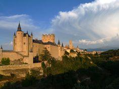 Alcazar de Segovia, una de las muchas residencias de los reyes católicos de España.