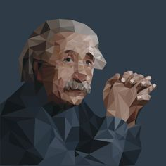 Low-Poly Portrait on Behance