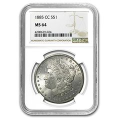 1885 CC Morgan Dollar MS-64 NGC $1 MS-64 NGC -- Be sure to check out this awesome product.