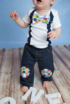 Baby boy pants Knee Patch Cotton Pants Pick by shopantsypants