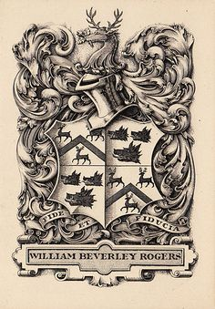 E.D. French for William Beverley Rogers, 1902.