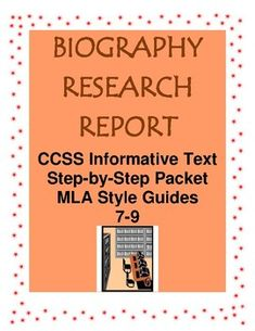 Secondary Resources, Science Resources, Women's History, Black History, Biography Project, Teaching American History, Research Report, Text Features, Book Study