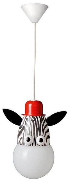 Lampara Colgante Techo Infantil Zebra