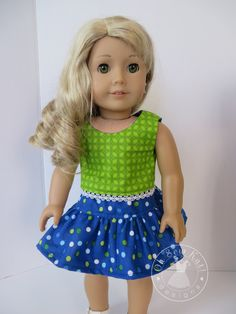 American Doll Clothes, Girl Doll Clothes, Girl Dolls, Ag Dolls, Barbie Clothes, Doll Dress Patterns, Doll Sewing Patterns, Sewing Dolls, Ag Clothing