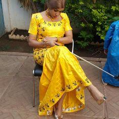 Mali fashion bazin brodé #Malifashion #bazin #malianwomenarebeautiful…