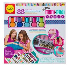 Lets get matching mani/pedis with fun colors and designs we make up. #beauty #ALEXspa Jessie would love this!!!