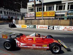 Gilles Villeneuve  Ferrari 312T4 US Grand Prix West Long Beach 1979