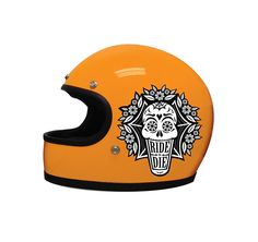 Custom Motorcycle Helmet Graphic on Behance Motorcycle Helmet Design, Custom Paint Motorcycle, Biker Helmets, Bicycle Helmet, Half Helmets, Biker Accessories, Vintage Helmet, Helmet Paint, Custom Helmets