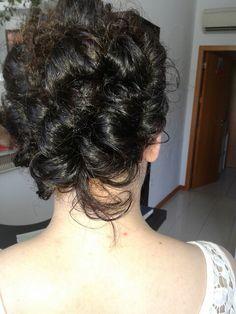 Lindo penteado de finalista