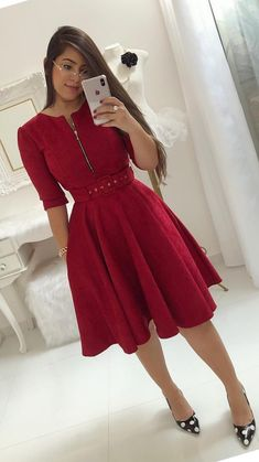 Swans Style is the top online fashion store for women. Shop sexy club dresses, jeans, shoes, bodysuits, skirts and more. Elegant Dresses For Women, Unique Prom Dresses, Modest Dresses, Simple Dresses, Pretty Dresses, Casual Dresses, Chic Outfits, Dress Outfits, Fashion Dresses